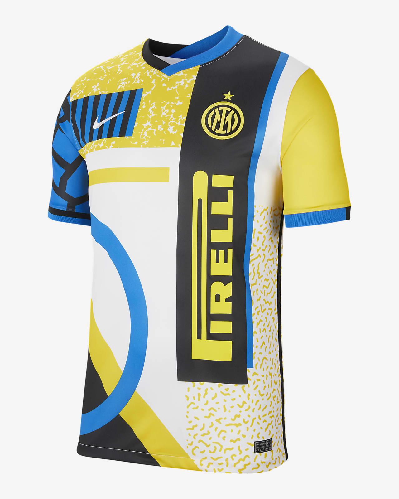 Camiseta de fútbol cuarta alternativa para hombre Stadium del Inter de Milán 2020/21
