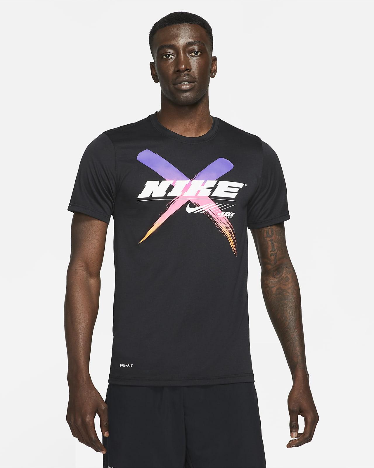 Playera de entrenamiento estampada para hombre Nike Dri-FIT