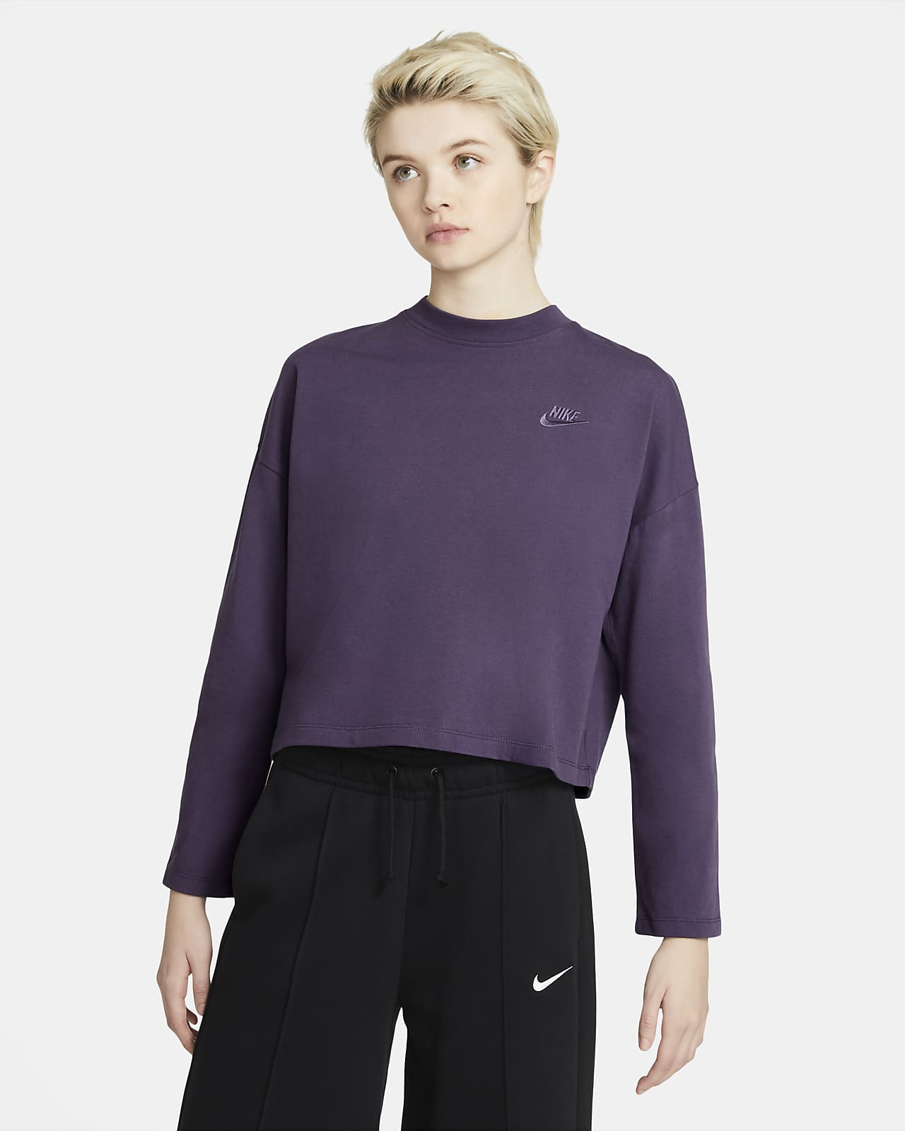 Nike Sportswear Women's Jersey Long-Sleeve Top