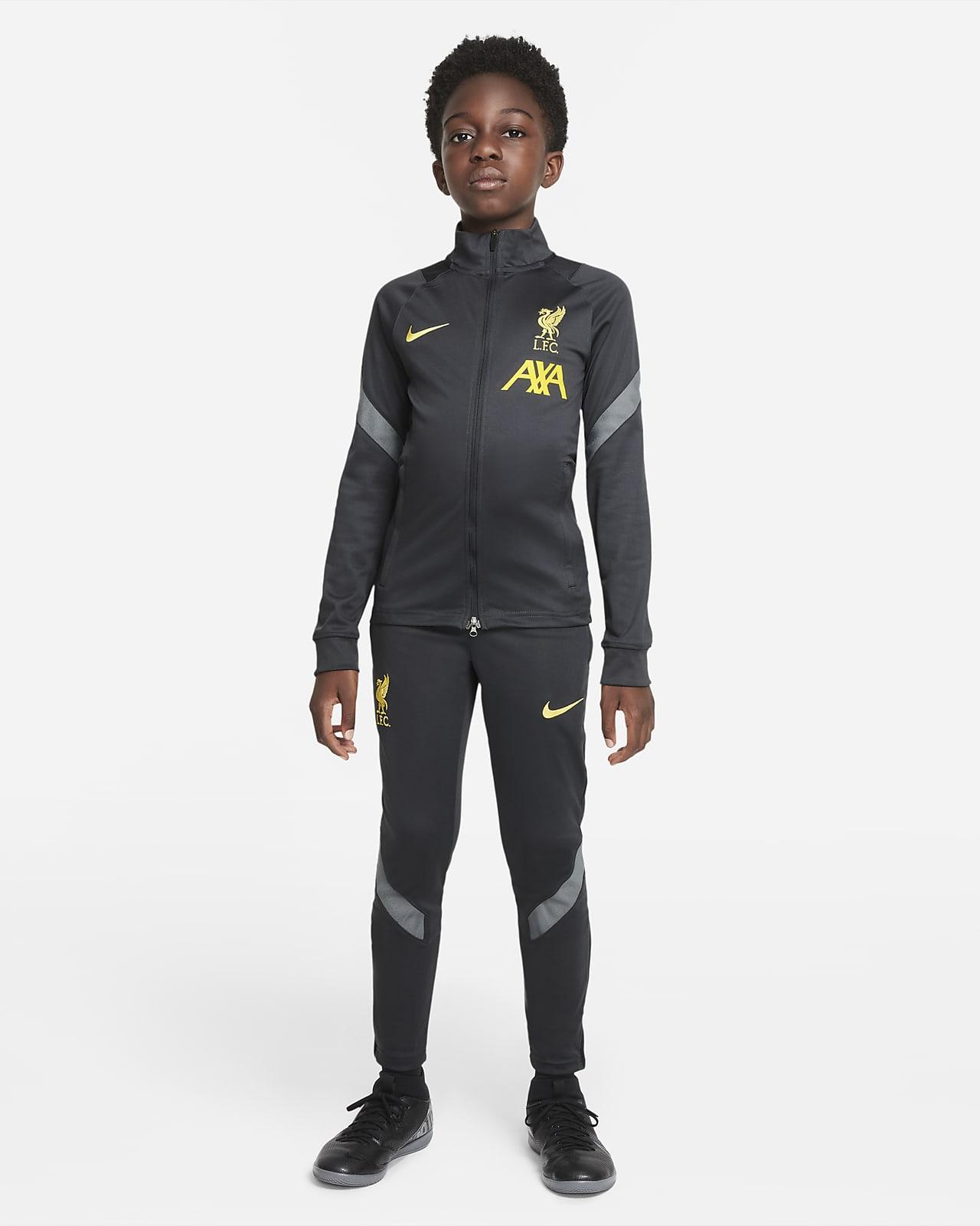 Liverpool F.C. Strike Older Kids' Nike Dri-FIT Knit Football Tracksuit