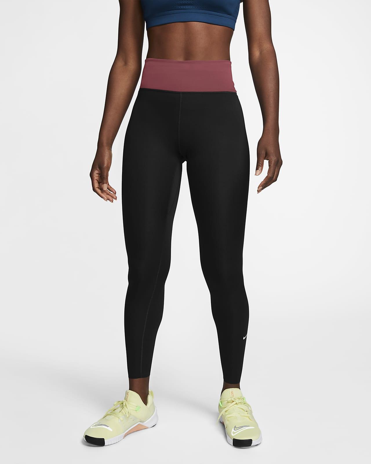 Leggings Nike One Luxe med mellanhög midja för kvinnor