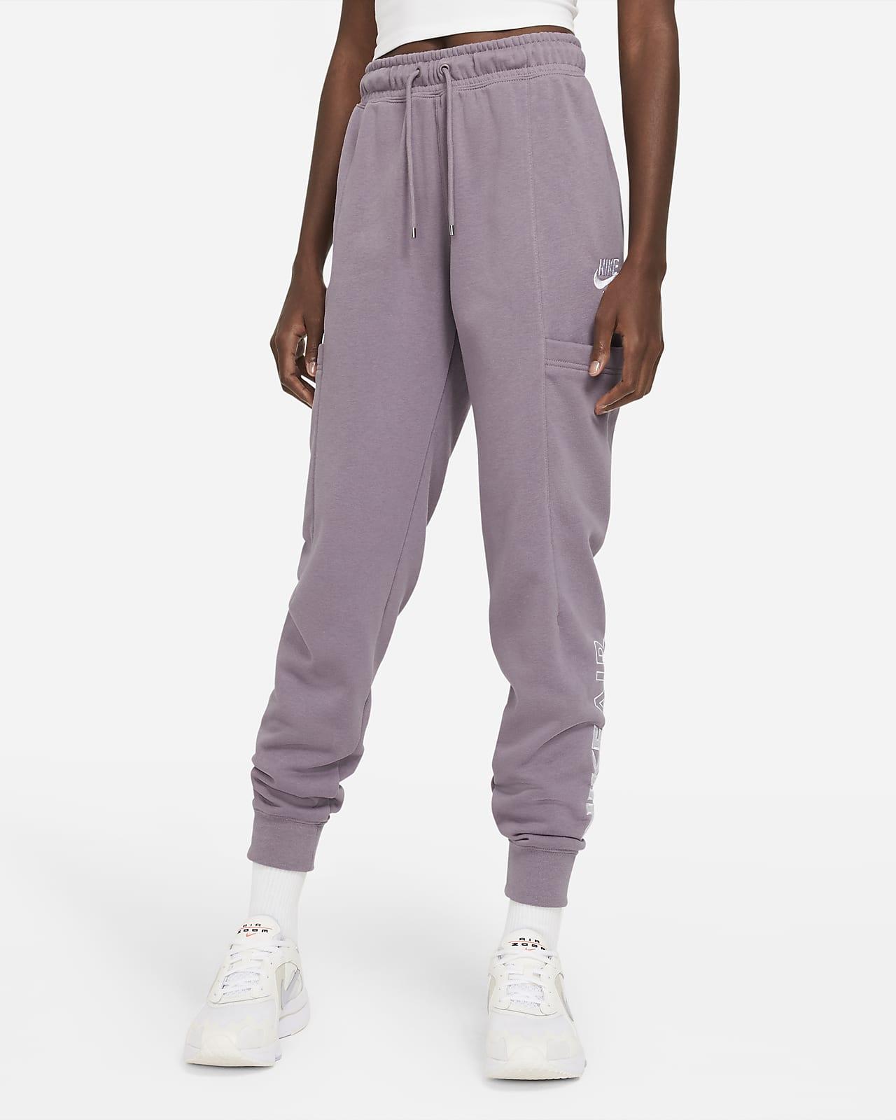 Pantalones de tejido Fleece para mujer Nike Air