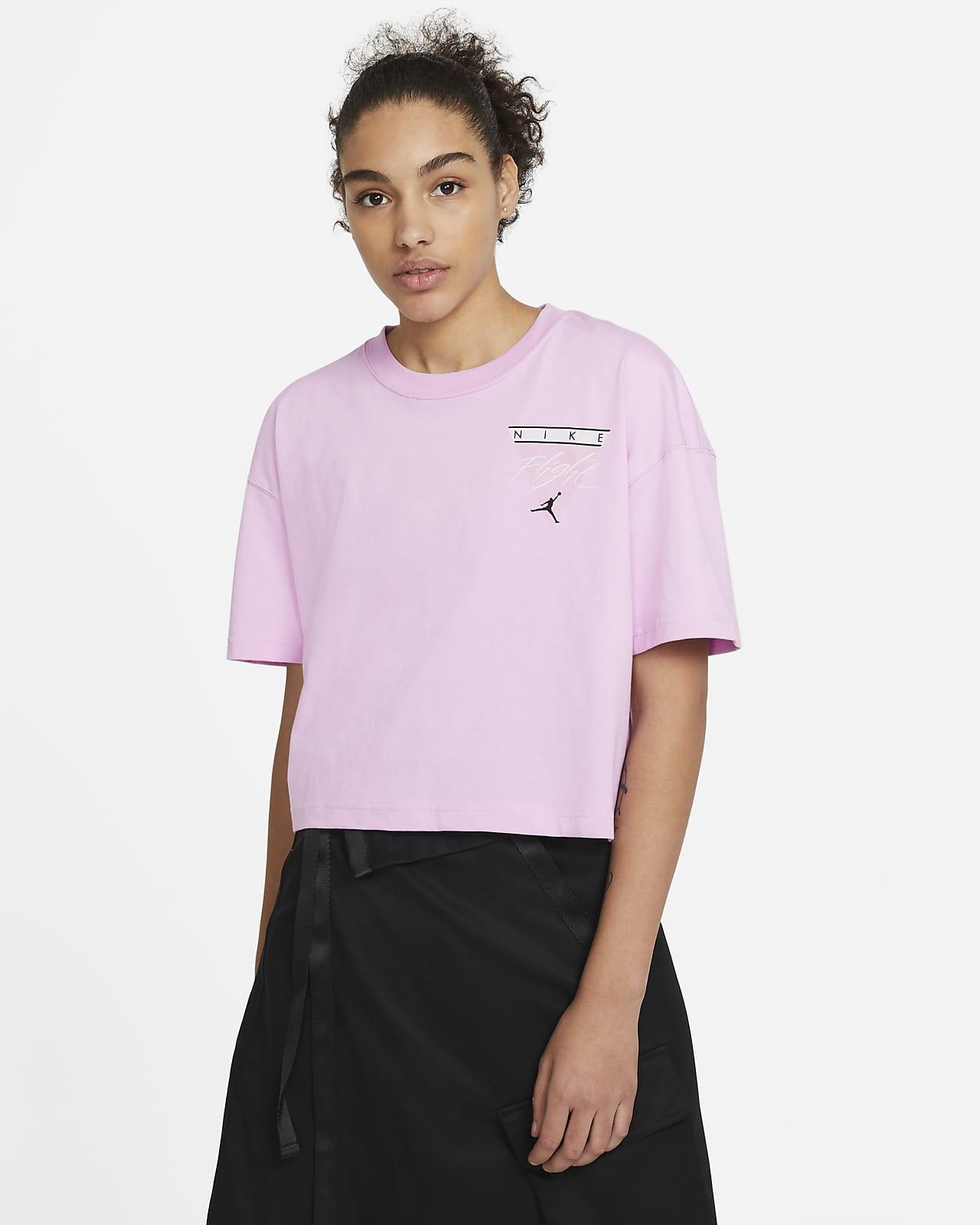 T-shirt com grafismo Jordan Essentials para mulher