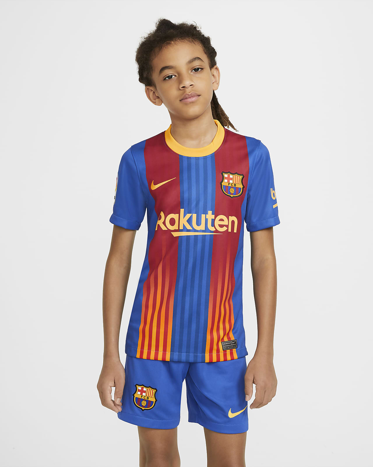 FC Barcelona Stadium Older Kids' Football Shirt