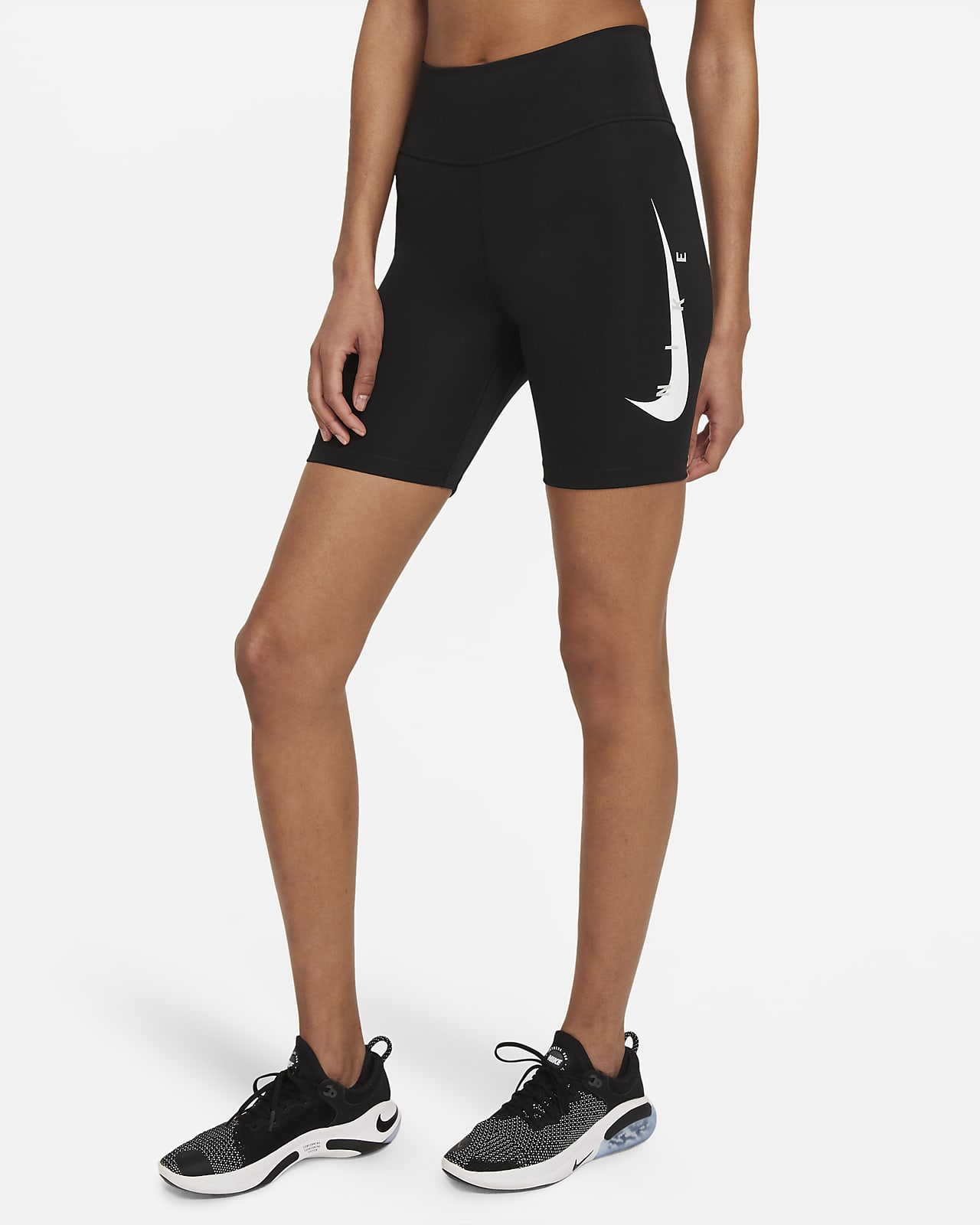 Nike Swoosh Run Hardlooptights voor dames (18 cm)