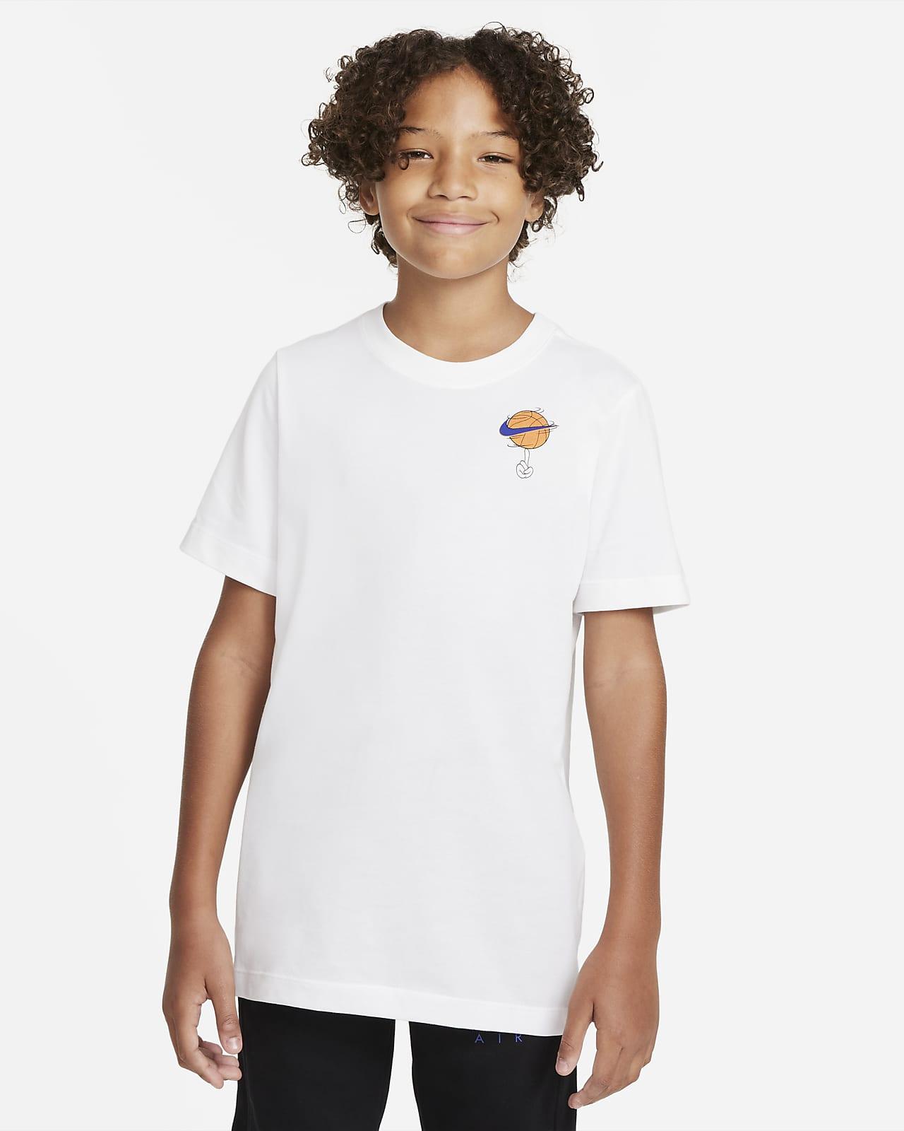 Playera de entrenamiento para niños talla grande Nike Dri-FIT x Space Jam: A New Legacy