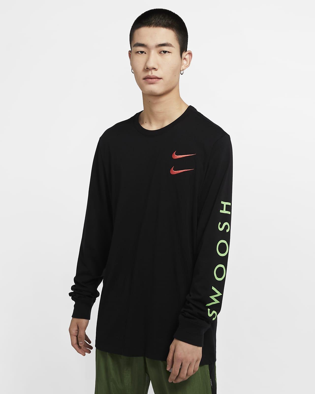 Långärmad t shirt Nike Sportswear för killar. Nike SE
