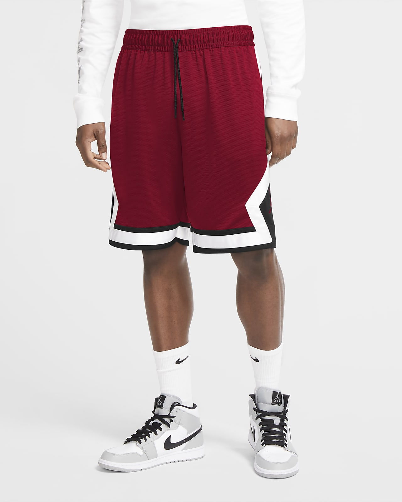 Jordan Jumpman Diamond basketshorts til herre