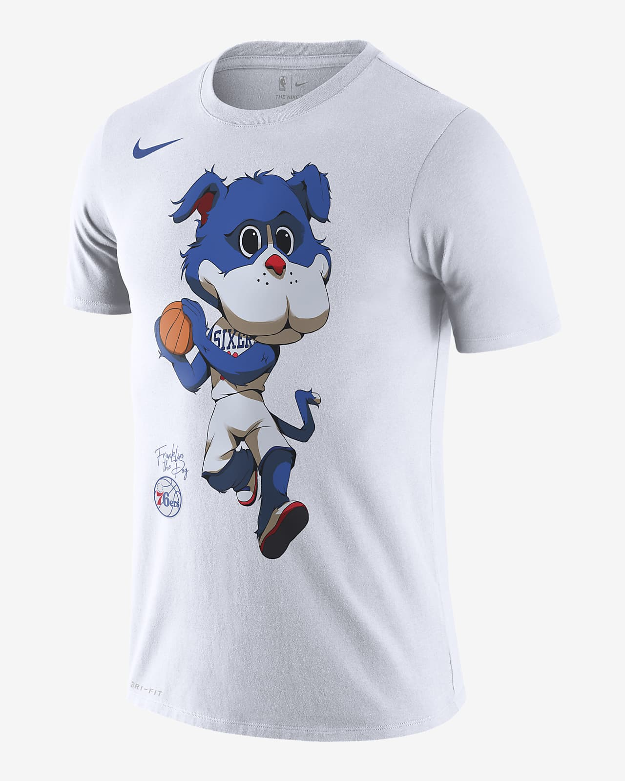 76ers Mascot Men S Nike Dri Fit Nba T Shirt Nike Com