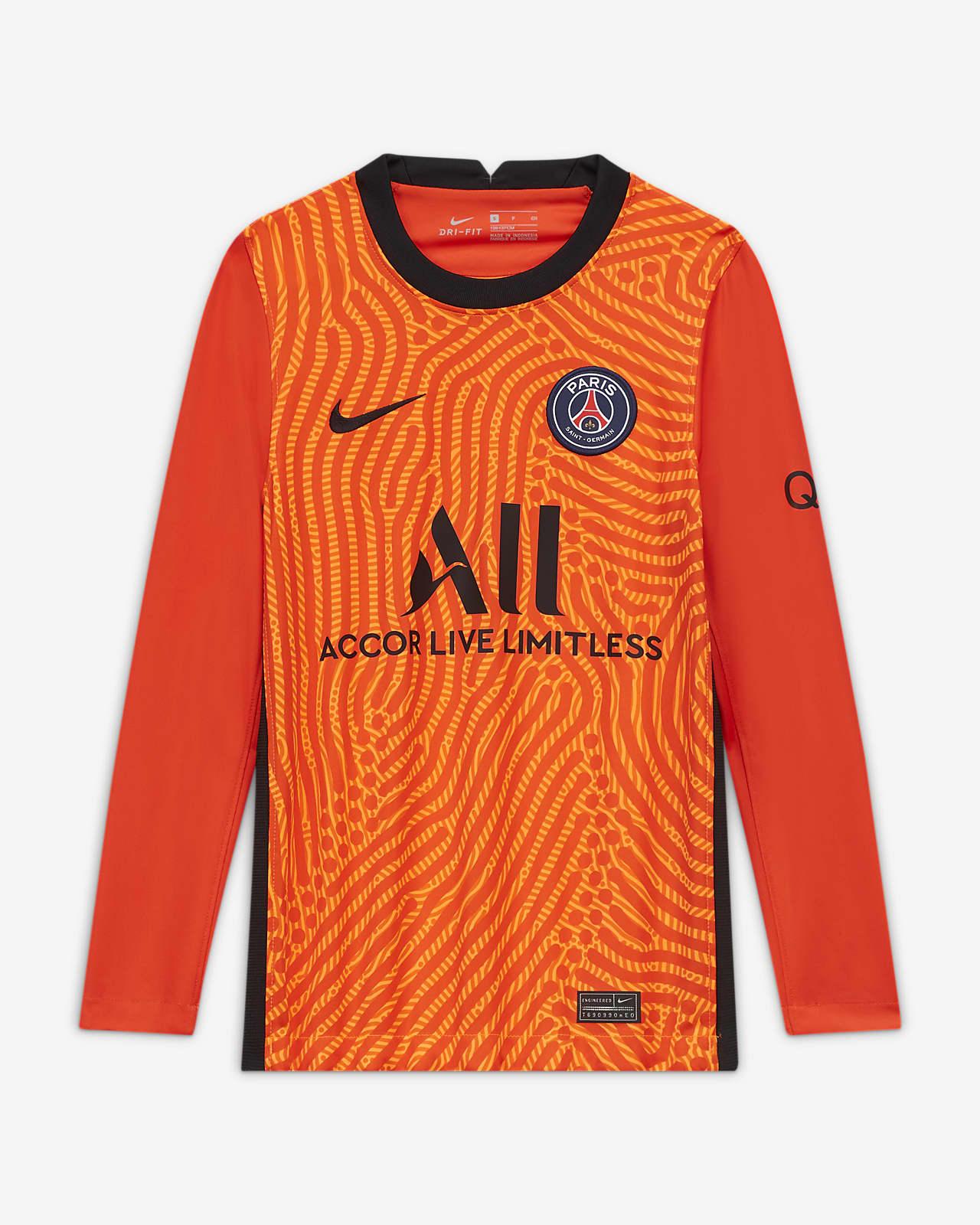 Maillot de football Paris Saint Germain 202021 Stadium Gardien de but pour Enfant plus âgé