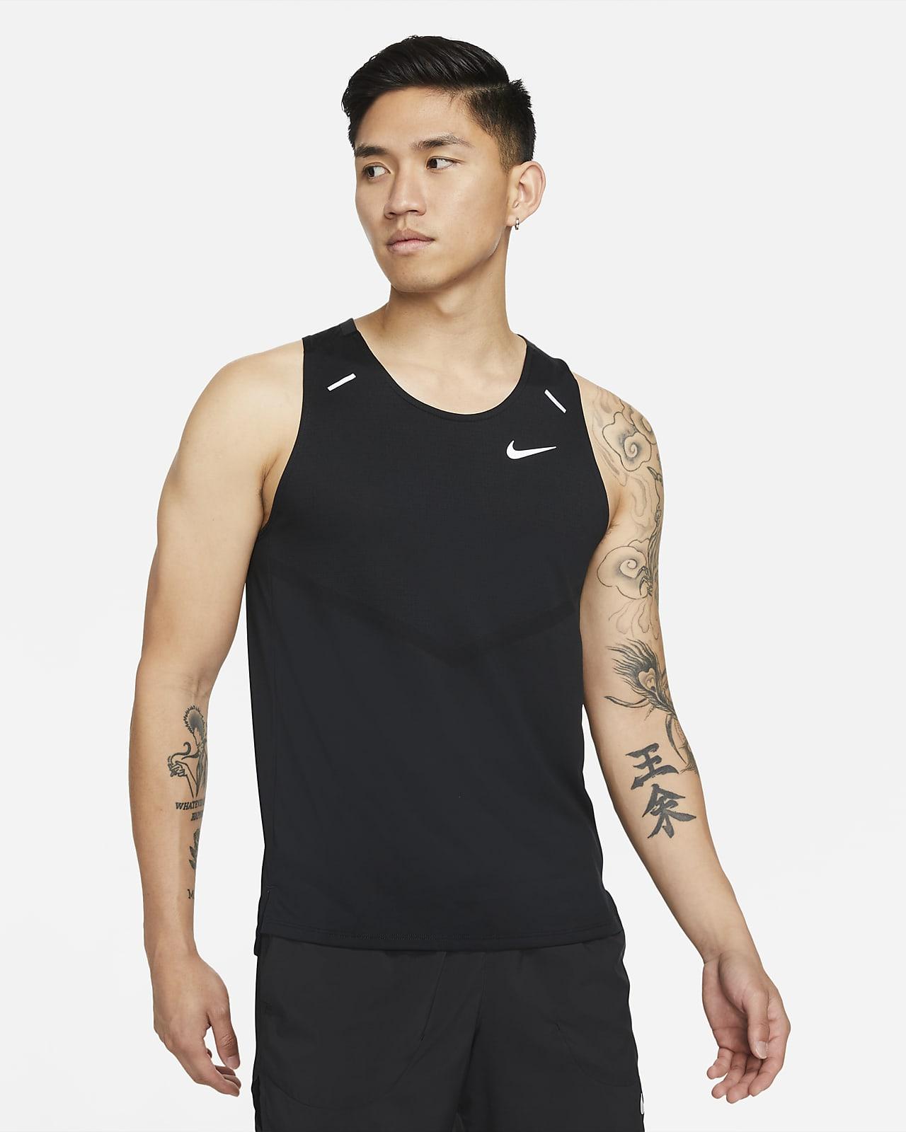 เสื้อกล้ามวิ่งผู้ชาย Nike Dri-FIT Rise 365