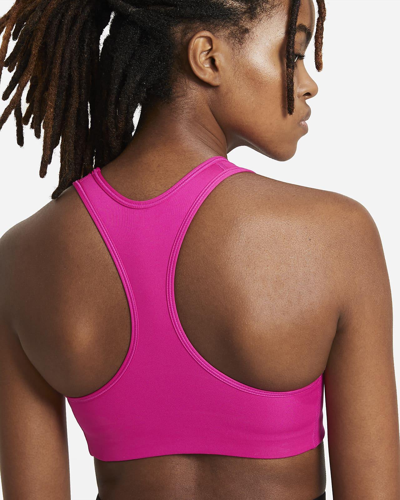 Nike Dri Fit Swoosh Women S Medium Support 1 Piece Pad Sports Bra Nike Com
