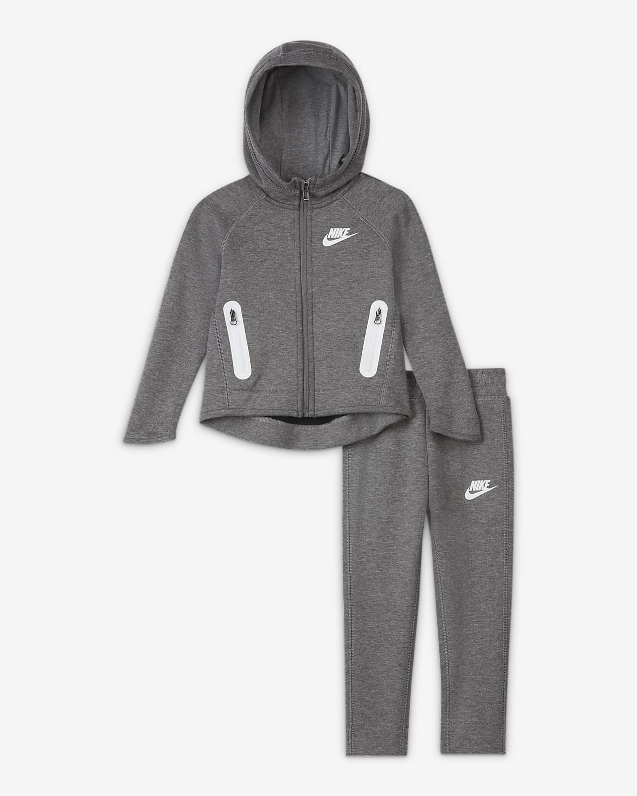 Nike Sportswear Tech Fleece-sæt i to dele til småbørn