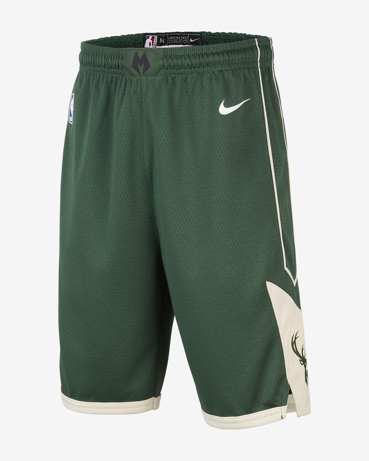 Milwaukee Bucks Nike Icon Edition Swingman Older Kids' (Boys') NBA Shorts