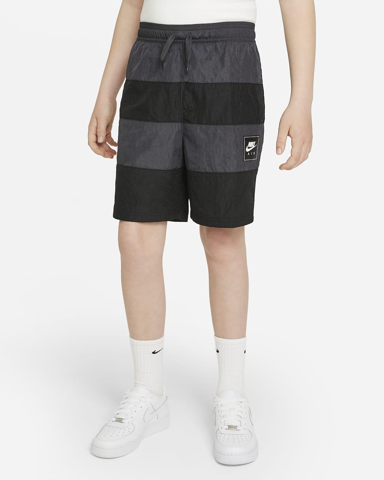 Shorts i vävt material Nike Air för killar