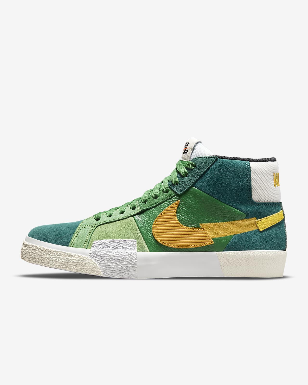 Chaussure de skateboard Nike SB Zoom Blazer Mid Premium. Nike LU