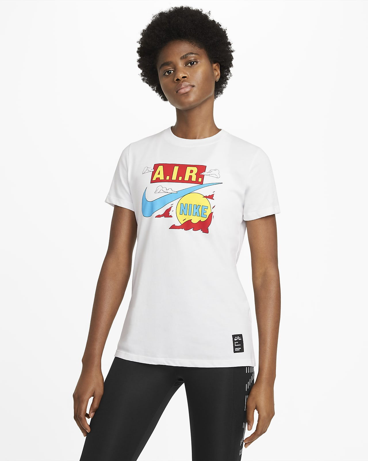 Nike Dri-FIT A.I.R. Cristina Daura Women's Short-Sleeve T-Shirt
