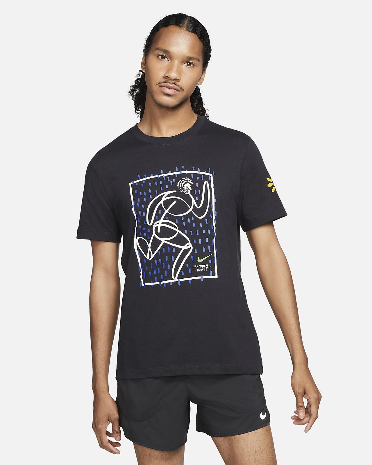 Pánské běžecké tričko Nike Dri-FIT Hackney