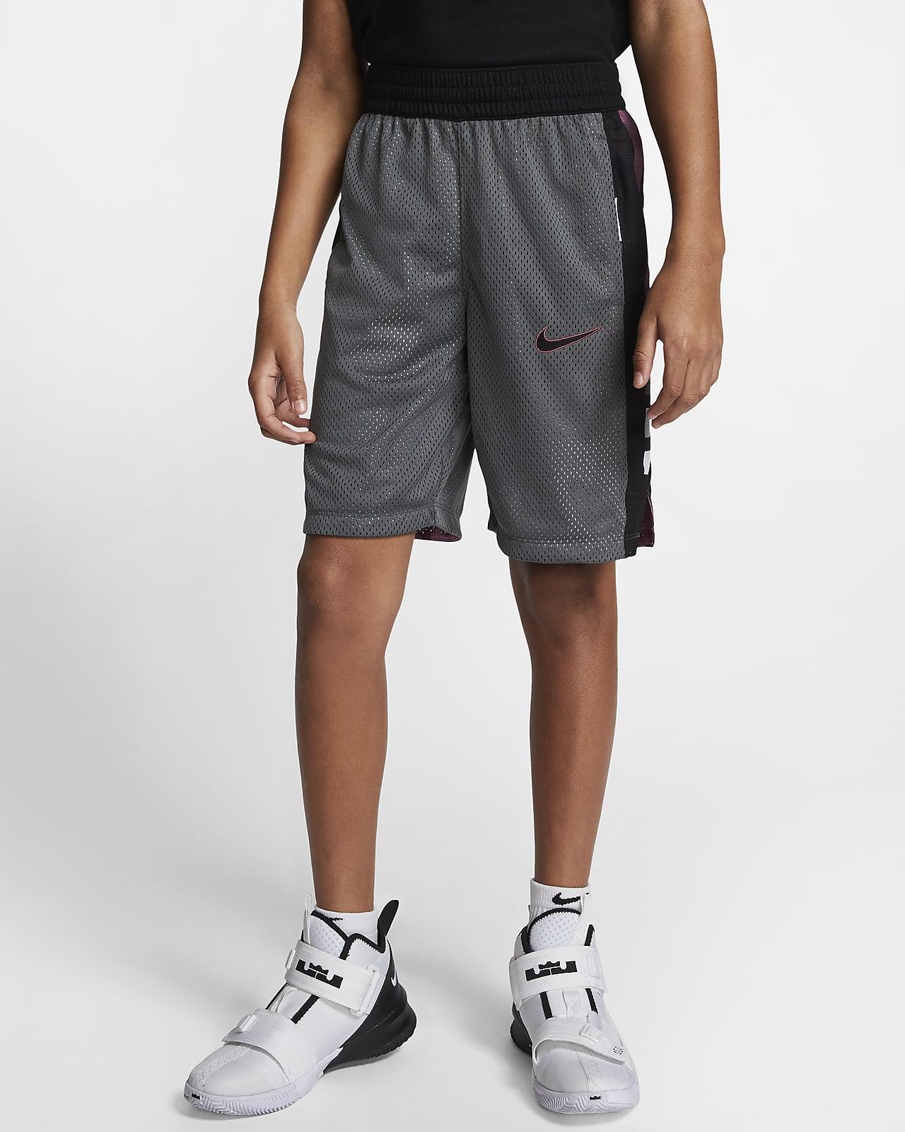 Nike Elite Big Kids' (Boys') Reversible Basketball Shorts