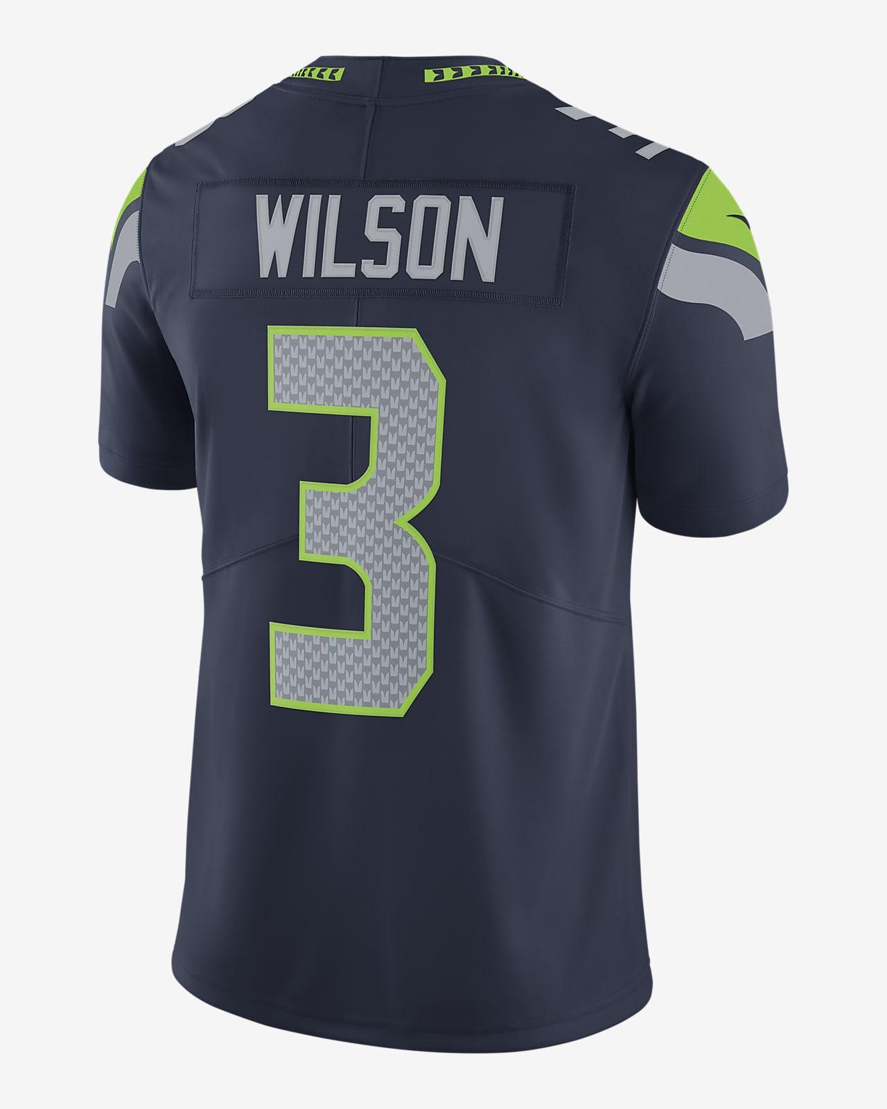 NFL Seattle Seahawks Vapor Untouchable (Russell Wilson) Men's Limited Football Jersey