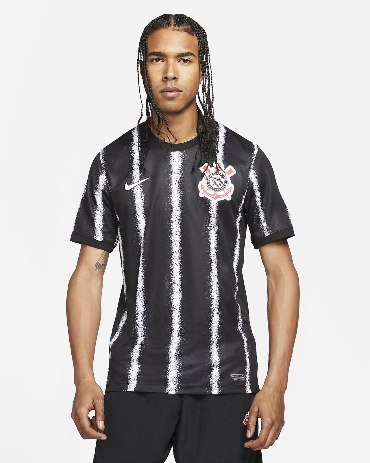 S.C. Corinthians 2021/22 Stadium Uit Voetbalshirt voor heren
