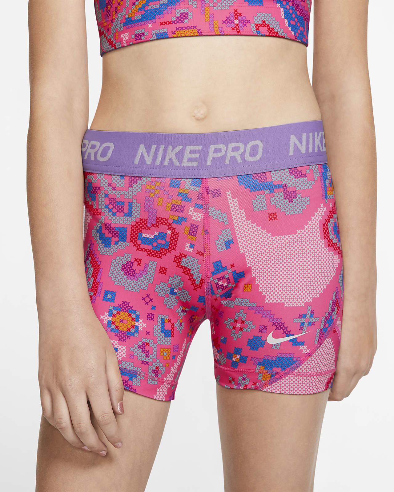 Nike Pro Boyshorts mit Print für ältere Kinder (Mädchen)