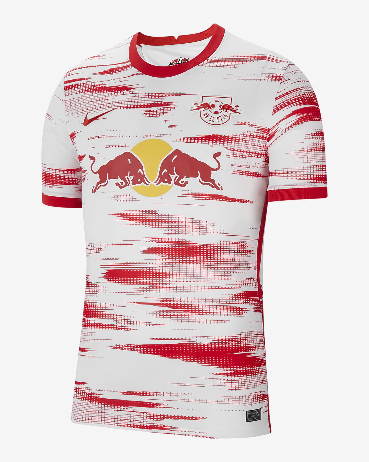 RB Leipzig 2021/22 Stadium Home Men's Football Shirt. Nike SA