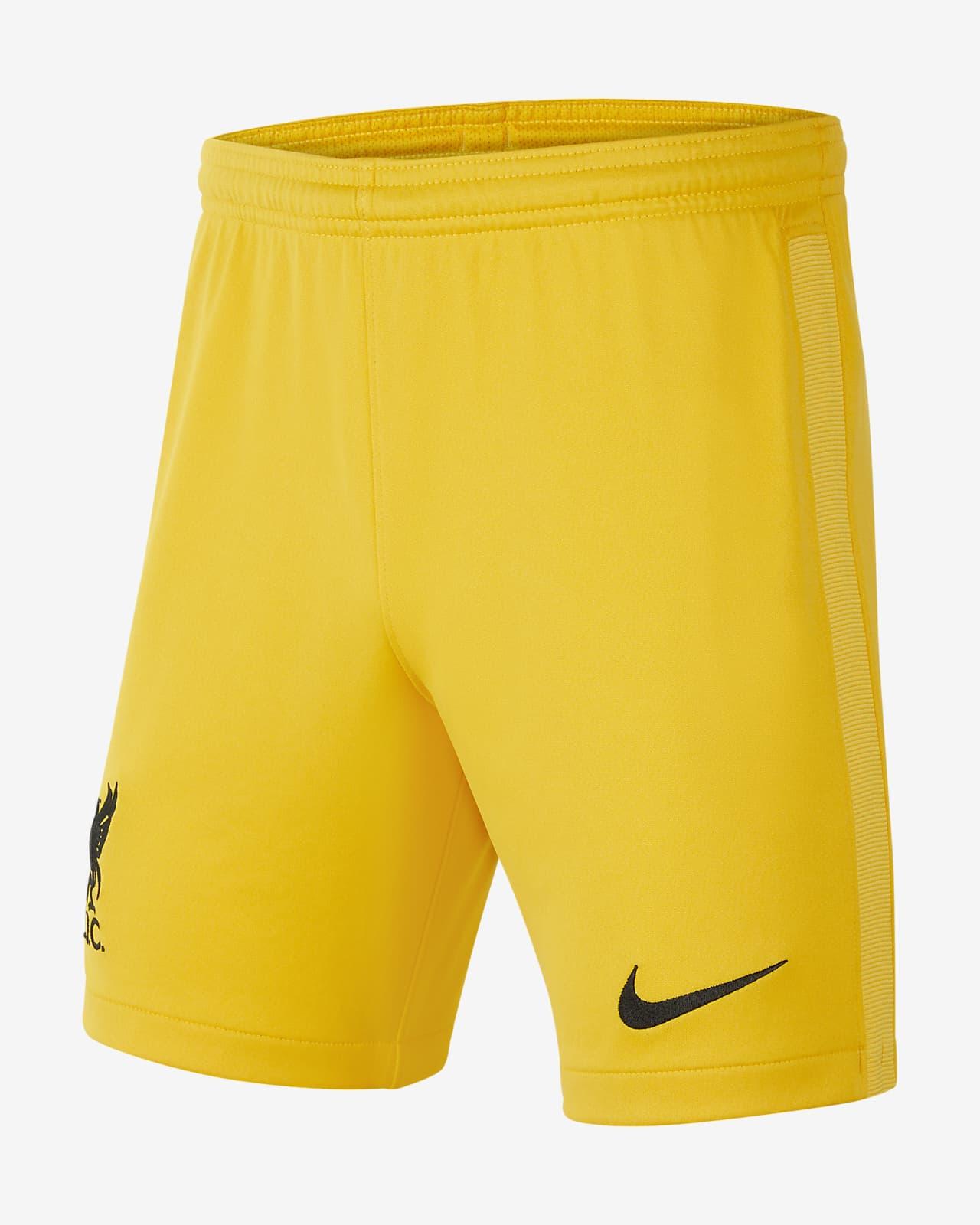Liverpool F.C. 2021/22 Stadium Goalkeeper Older Kids' Football Shorts