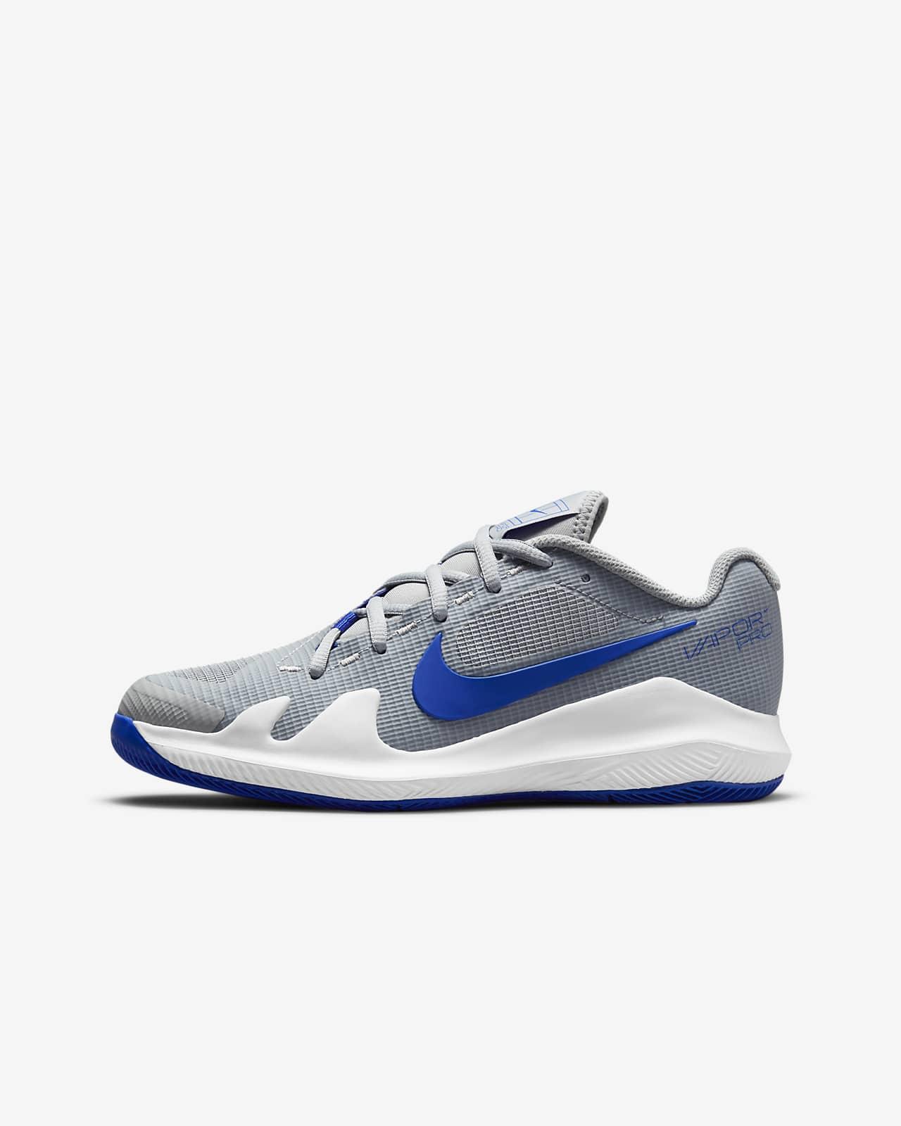 Calzado de tenis para niños talla pequeña/grande NikeCourt Jr. Vapor Pro