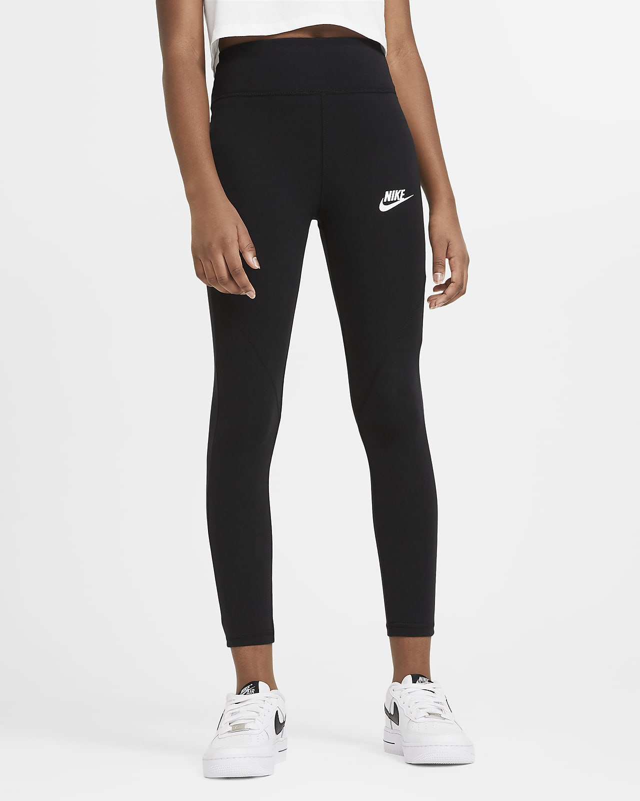 Legging taille haute Nike Sportswear Favorites pour Fille plus âgée