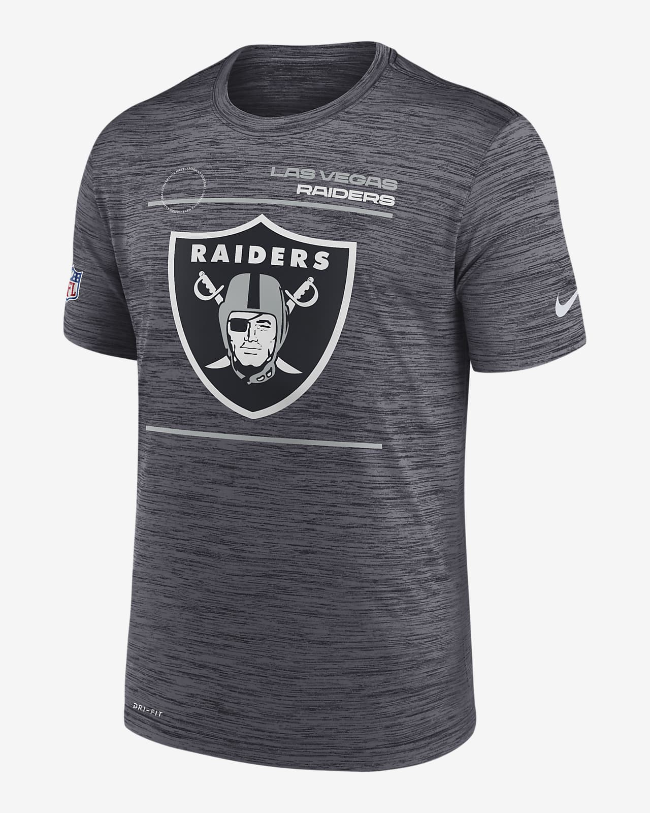 Nike Dri-FIT Sideline Velocity Legend (NFL Las Vegas Raiders) Men's T-Shirt