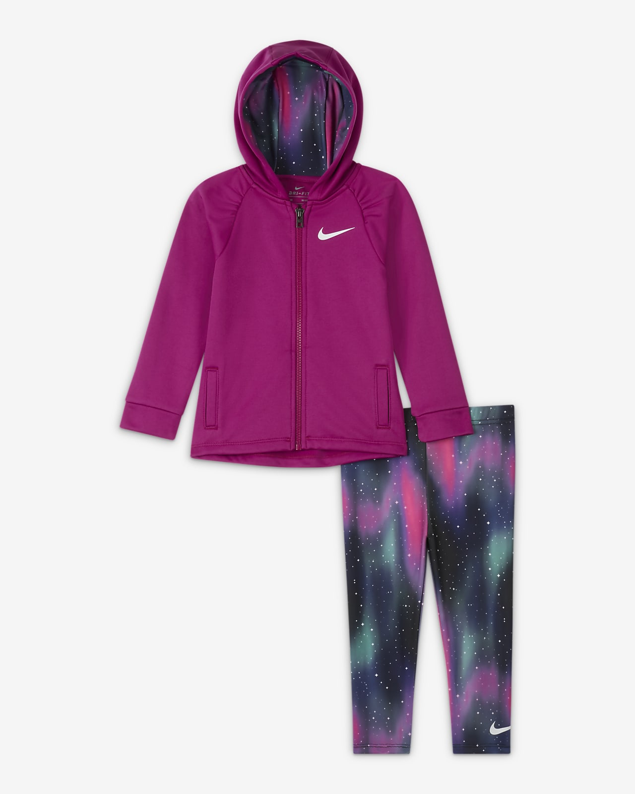 Nike Therma Baby (12-24M) Hoodie and Leggings Set