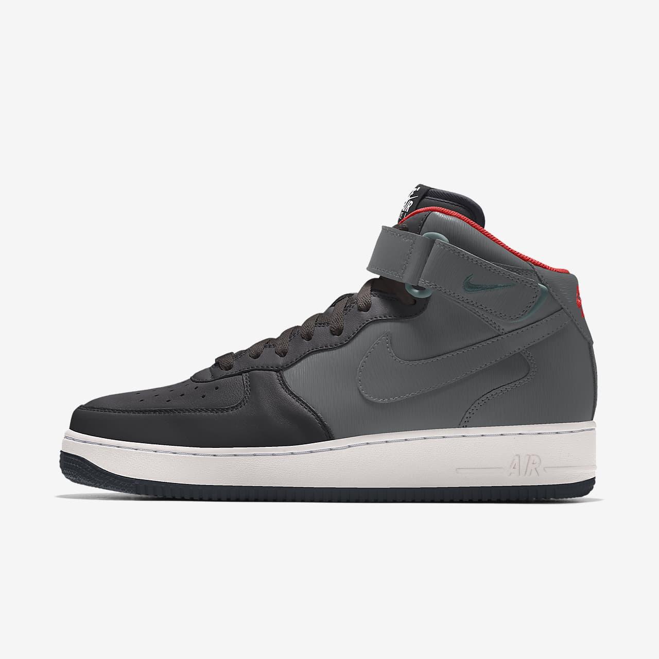 Nike Air Force 1 Mid By You Custom 女子运动鞋