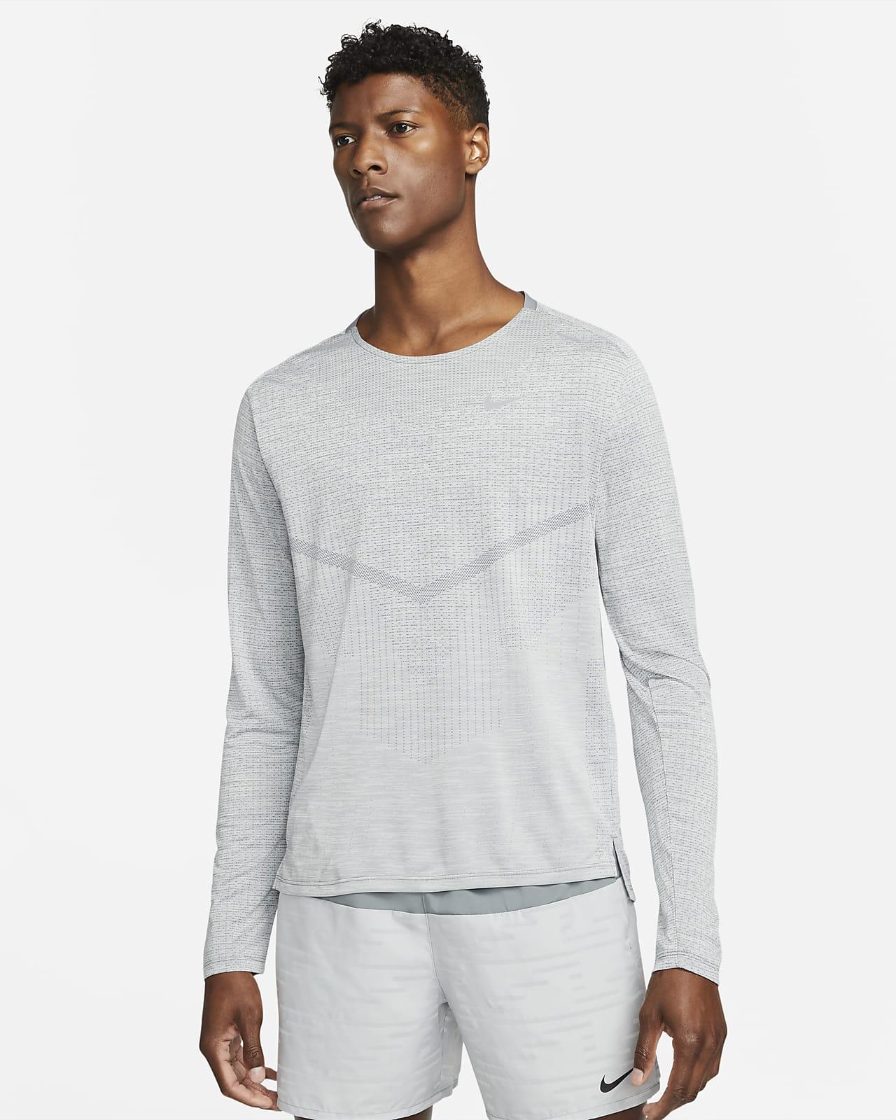 Pánské běžecké tričko Nike Dri-FIT ADV Techknit Ultra sdlouhým rukávem