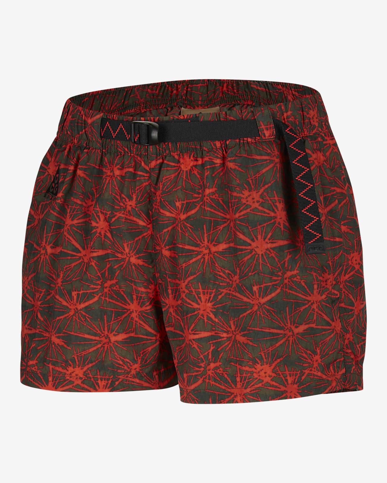 Nike ACG Woven Allover Print Shorts