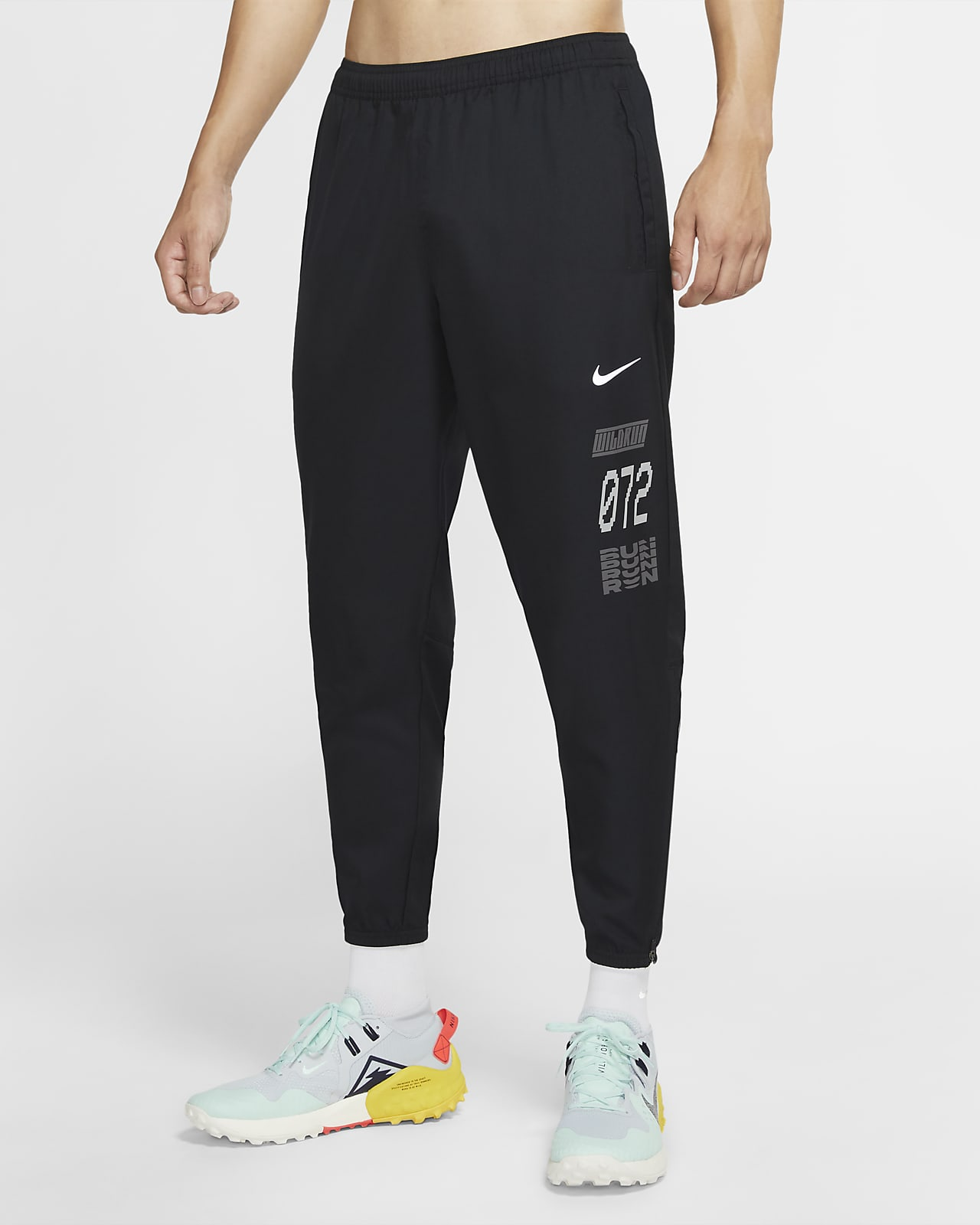 Nike Essential Wild Run 男款梭織跑步長褲