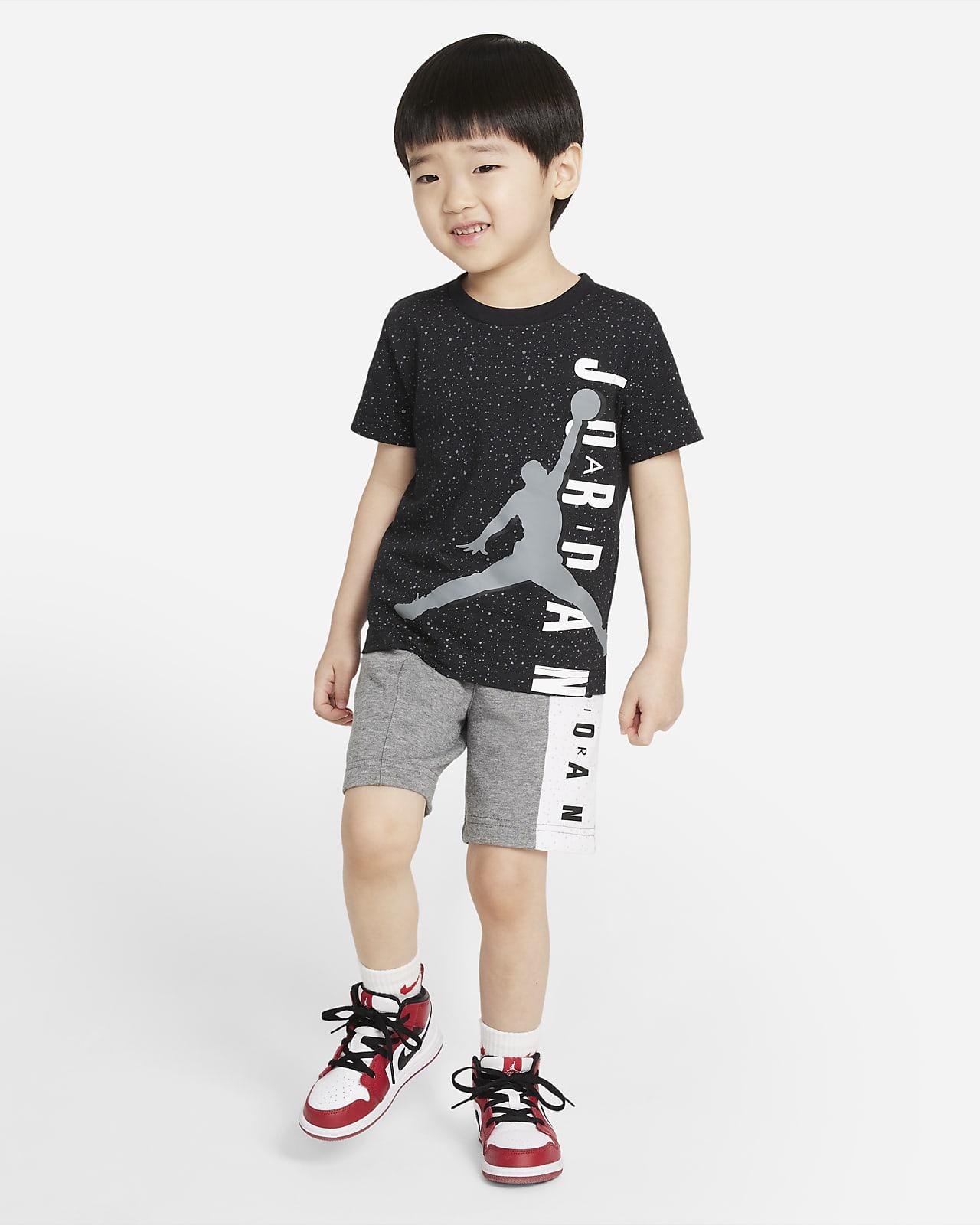 Conjunto de playera y shorts para bebé Jordan Jumpman