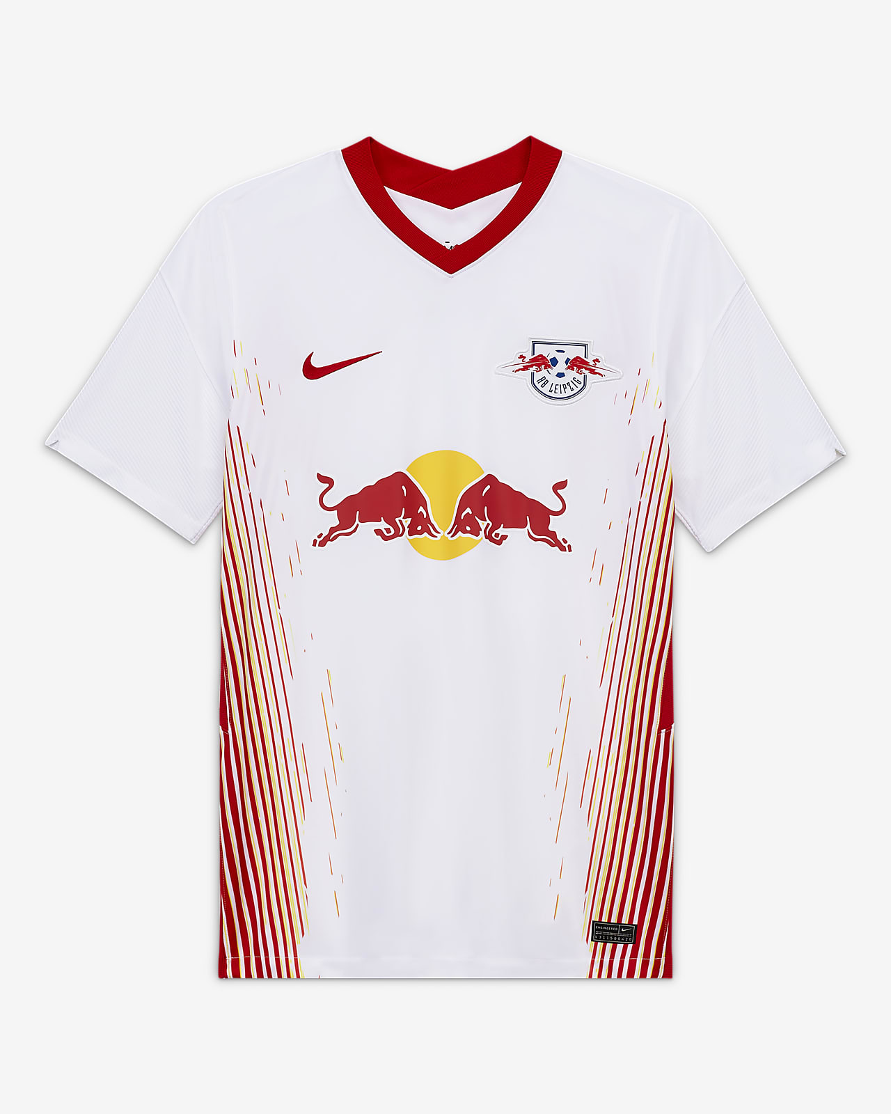 RB Leipzig 2020/21 Stadium Home Men's Football Shirt