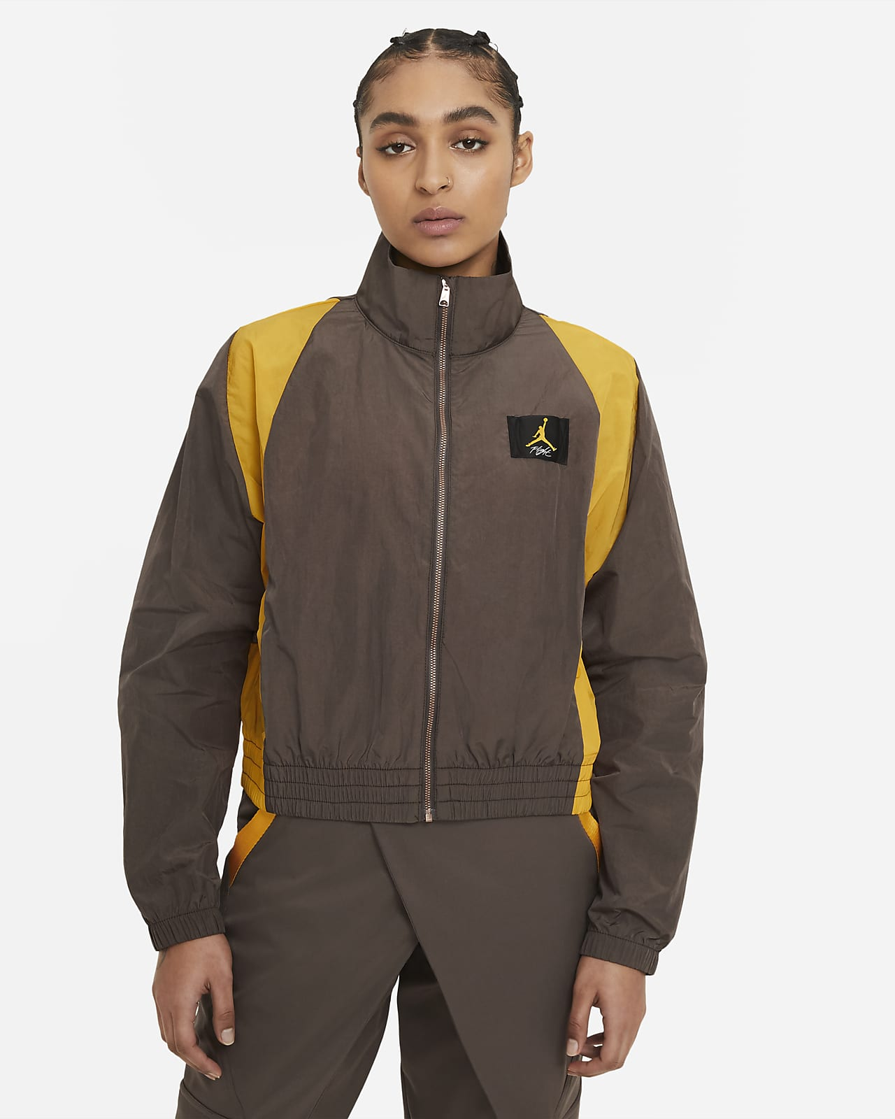 Jordan Damenjacke aus Webmaterial