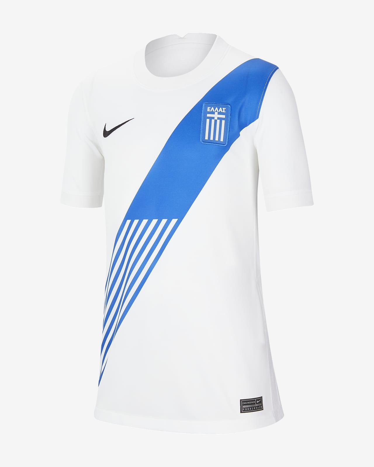 Greece 2020 Stadium Home Older Kids' Football Shirt