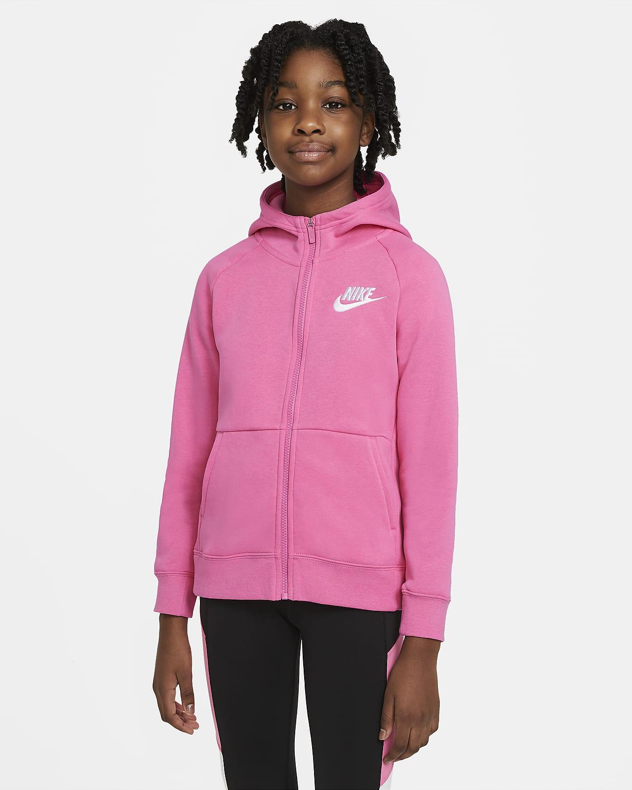 Nike Sportswear Hoodie met rits voor meisjes