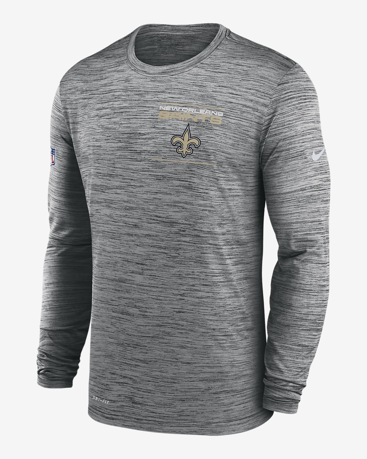 Nike Dri-FIT Sideline Velocity Legend (NFL New Orleans Saints) Men's Long-Sleeve T-Shirt