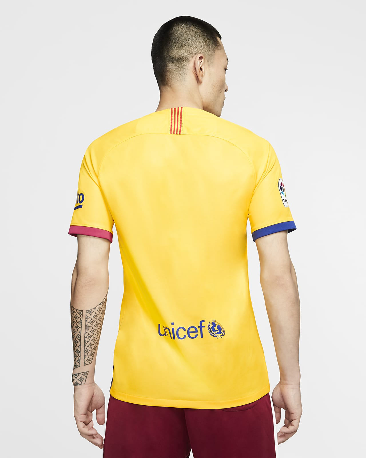 FC Barcelona 2019/20 Stadium Away Men's Football Shirt