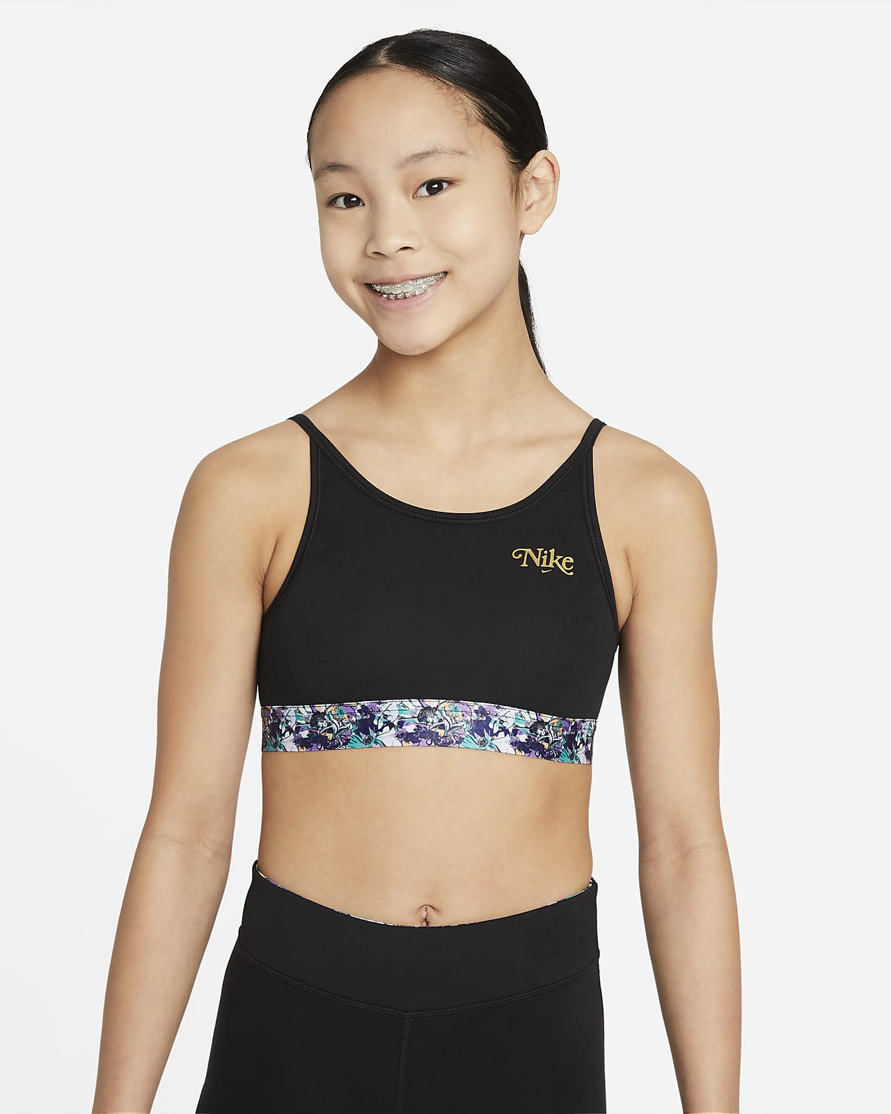 Nike Dri-FIT Trophy Sport-bh voor meisjes