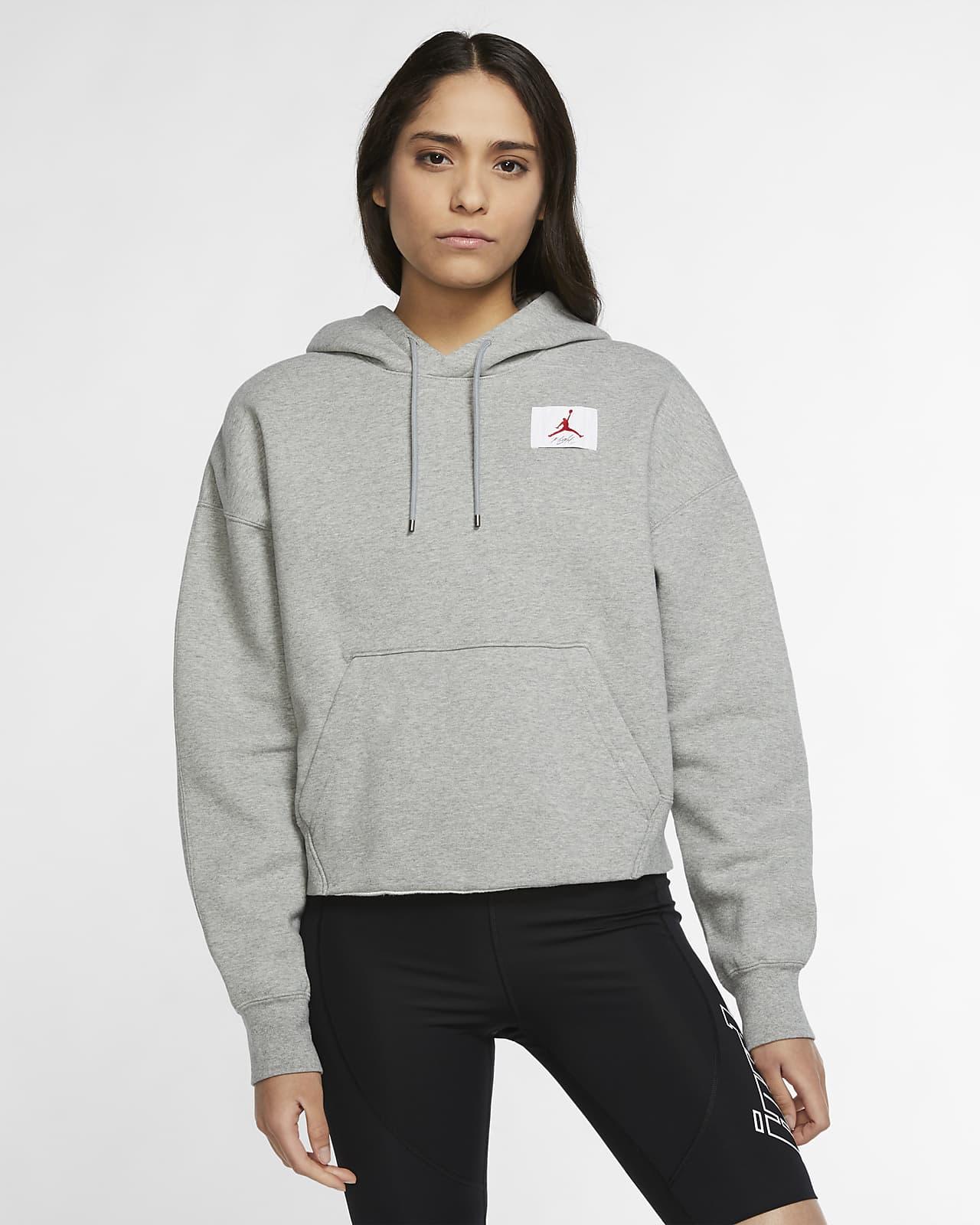 Fleece Pullover Hoodie. Nike HU