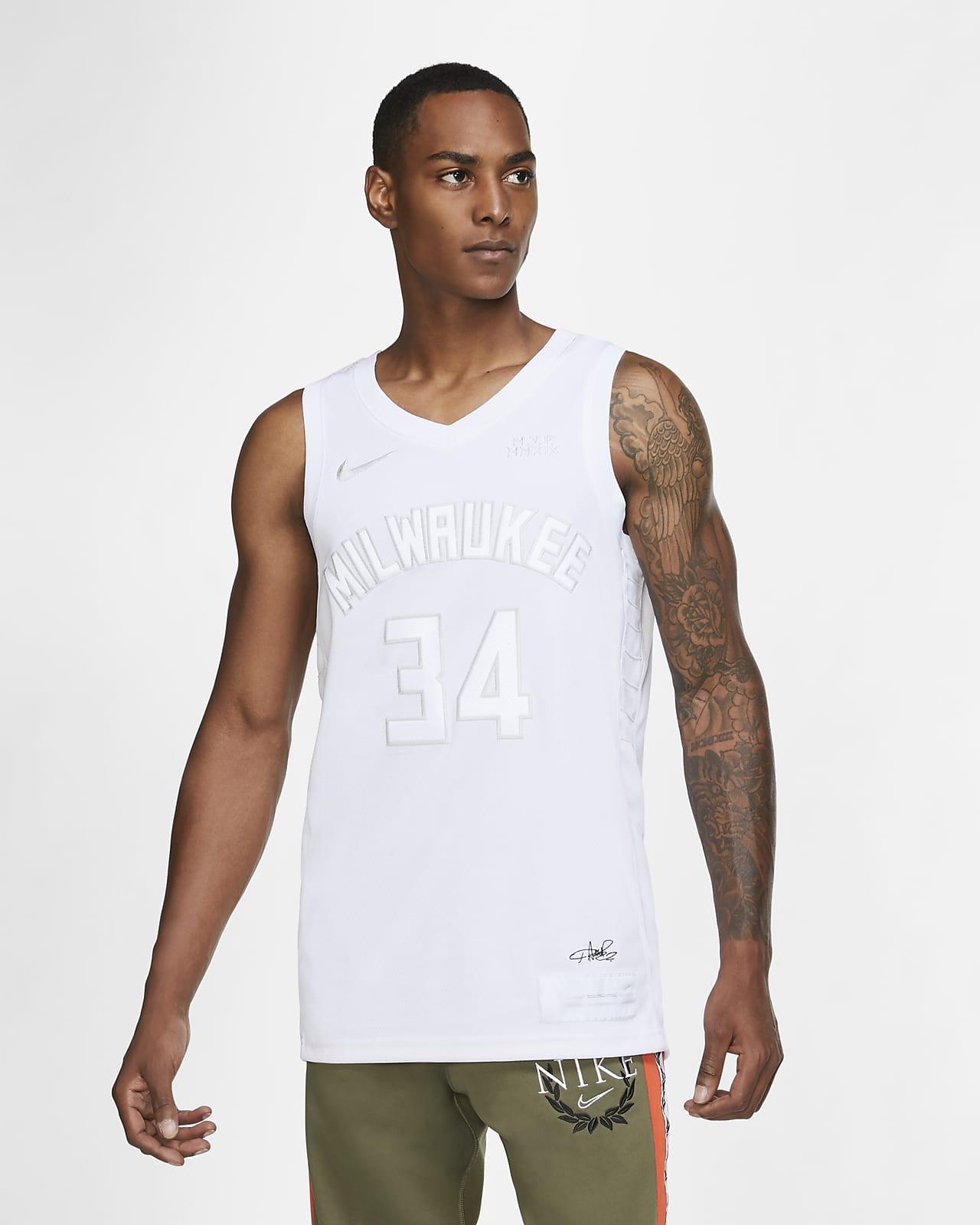 Giannis Antetokounmpo Bucks MVP 男款 Nike NBA 球衣