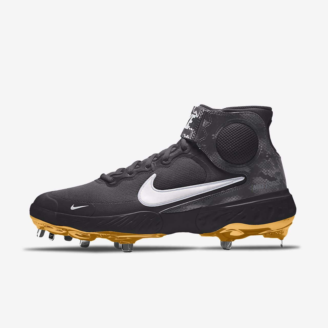 Scarpa da baseball personalizzabile Nike Alpha Huarache Elite 3 Mid By You