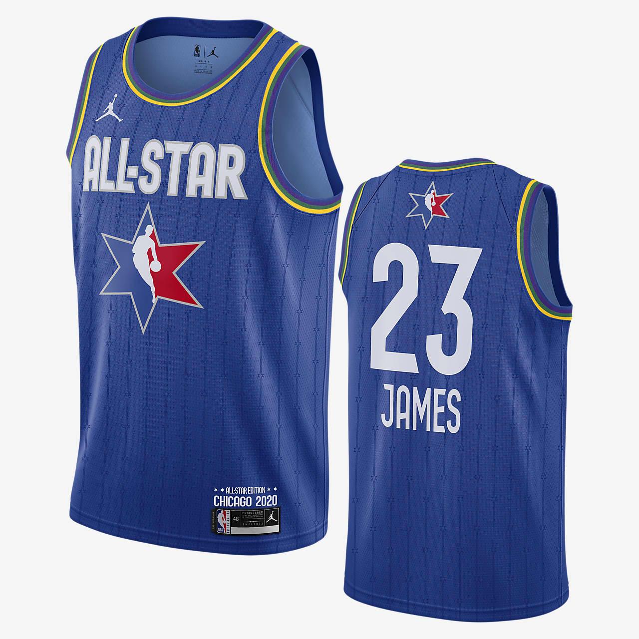 レブロン ジェームズ オールスター ジョーダン NBA スウィングマン ジャージー