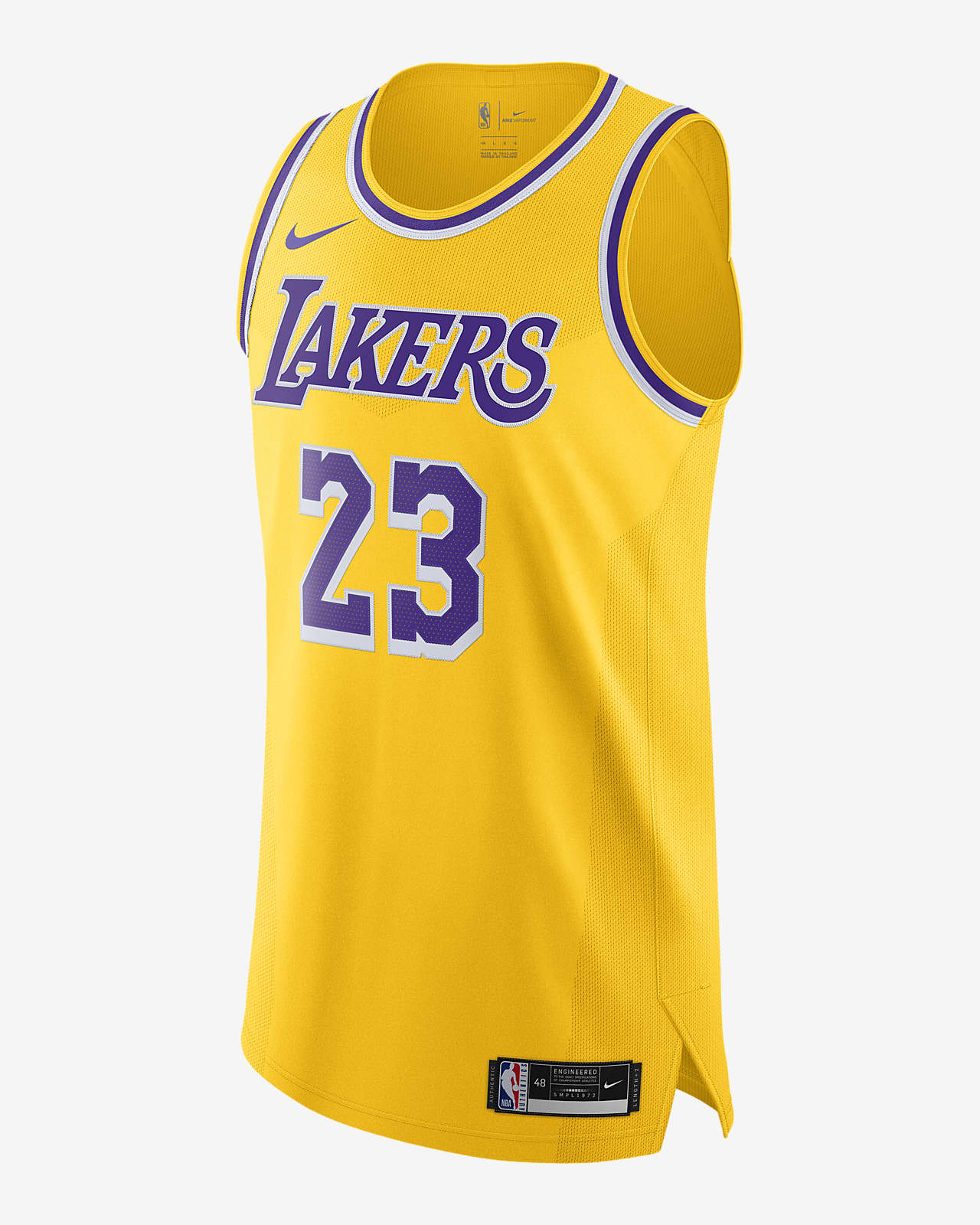 LeBron James Lakers Icon Edition 2020 Nike NBA Authentic Jersey
