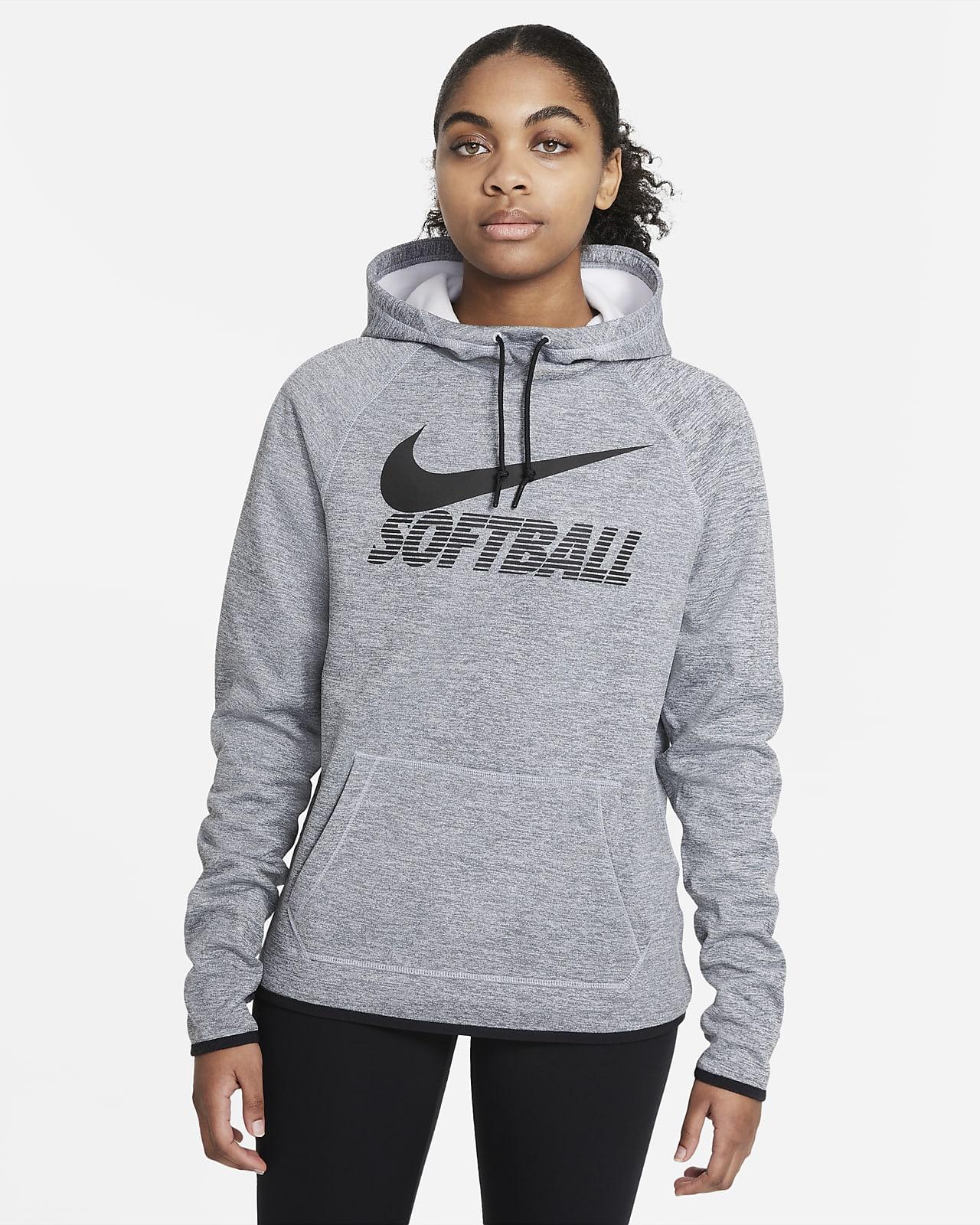 Sudadera con capucha de softball para mujer Nike Therma